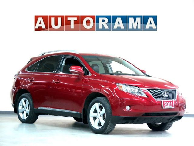 2011 Lexus RX 350 NAVIGATION AWD BACK UP CAMERA LEATHER SUNROOF in North York, Ontario