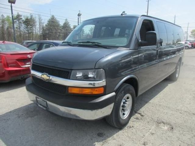 2016 Chevrolet Express 1500 1-TON PEOPLE MOVING LT MODEL 15 PASSENGER 6.0L  in Bradford, Ontario