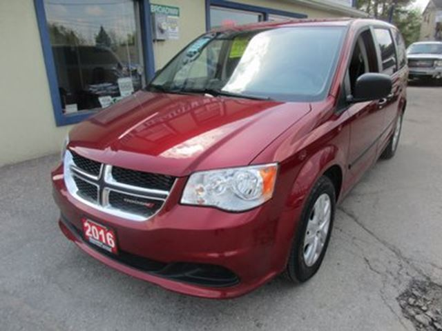 2016 Dodge Grand Caravan FAMILY MOVING SE EDITION 7 PASSENGER 3.6L - V6. in Bradford, Ontario