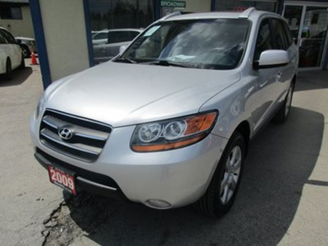 2009 Hyundai Santa Fe LOADED LIMITED EDITION 5 PASSENGER 3.3L - V6..  in Bradford, Ontario