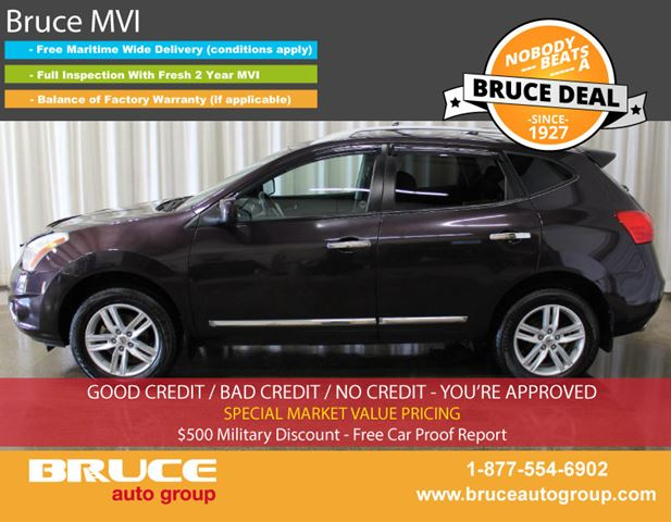 2011 NISSAN ROGUE SV 2.5L 4 CYL CVT AWD in Middleton, Nova Scotia