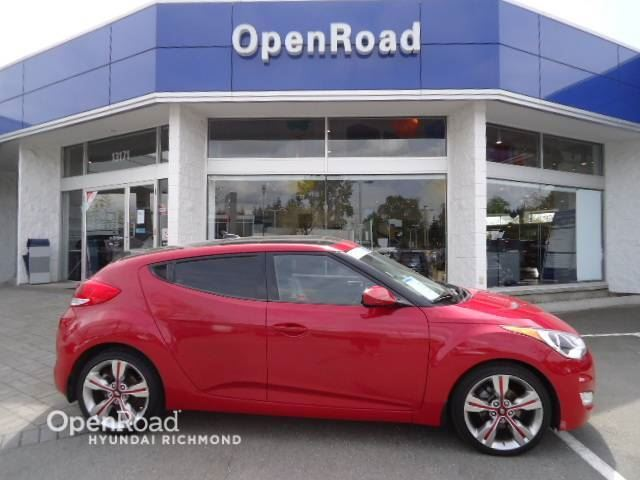 2012 HYUNDAI VELOSTER w/Tech- FINANCE AS LOW AS 0.90% in Richmond, British Columbia