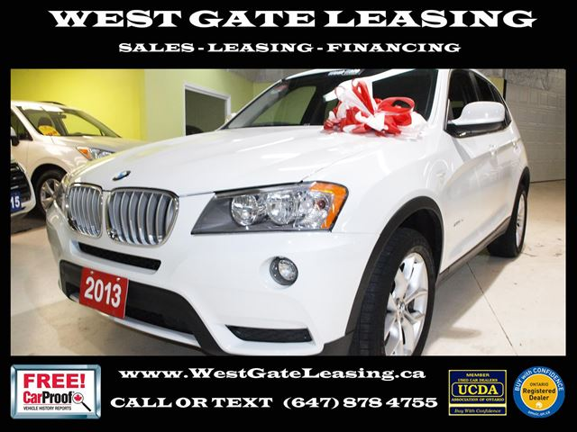2013 BMW X3 2L AWD  LEATHER  HEATED SEATS   in Vaughan, Ontario
