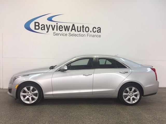 2014 CADILLAC ATS - AWD! TURBO! LEATHER! BLUETOOTH! BOSE! in Belleville, Ontario