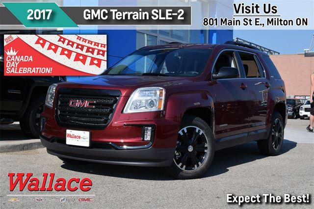 2017 gmc terrain sle 2 loaded nightfall pack driver alert pkg red wallace chevrolet buick. Black Bedroom Furniture Sets. Home Design Ideas