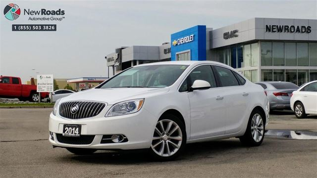 2014 Buick Verano Base ONE OWNER, NO ACCIDENT, ALLOYS, BACK UP CAM in Newmarket, Ontario