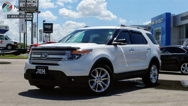2014 Ford Explorer XLT XLT, NO ACCIDENT, FULLY SERVICED, AWD, NAV in Newmarket, Ontario