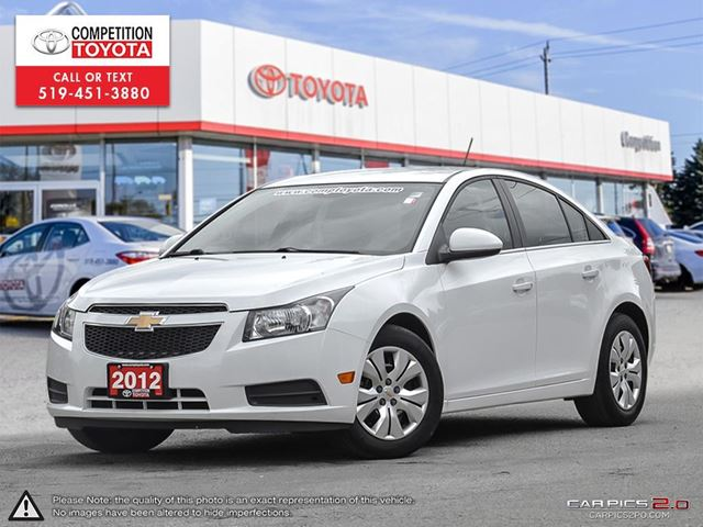 2012 CHEVROLET CRUZE LT Turbo One Owner, No Accidents in London, Ontario