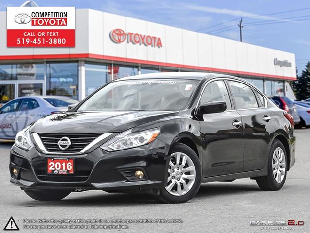 2016 NISSAN ALTIMA 2.5 S One Owner, No Accidents in London, Ontario
