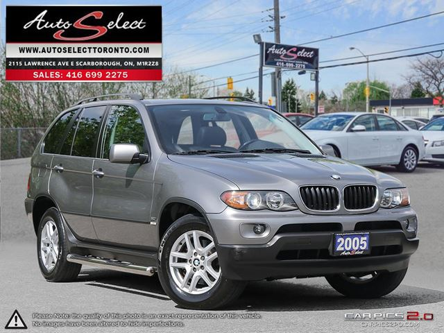 2005 BMW X5 AWD ONLY 116K! **NAVIGATION PKG** CLEAN CARPROOF in Scarborough, Ontario