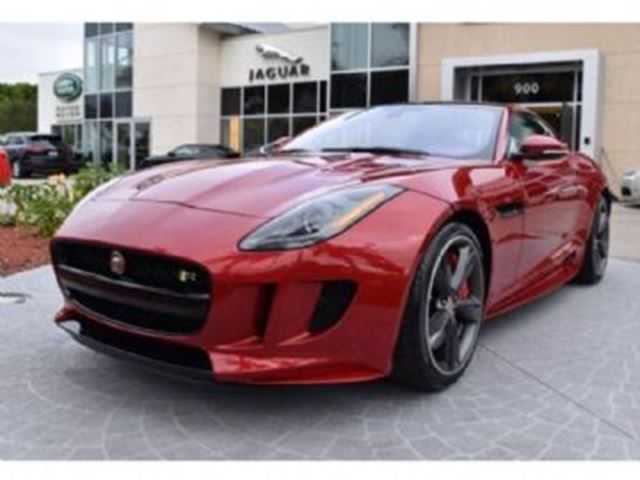 2017 Jaguar F-TYPE R Coupe AWD 5.0L V8, Vision, Ext Design, Full Leather + + + in Mississauga, Ontario