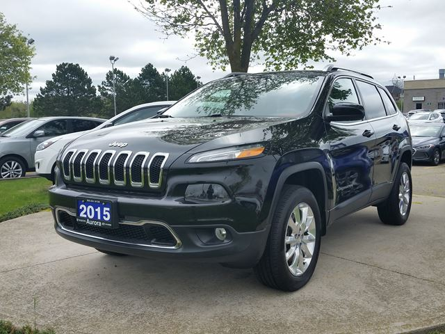 2015 Jeep Cherokee Limited in Aurora, Ontario