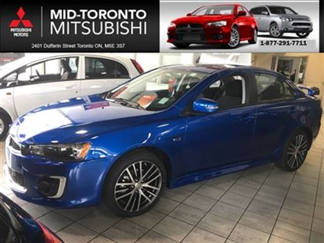 2016 MITSUBISHI LANCER GTS**NEW VEHICLE in Toronto, Ontario