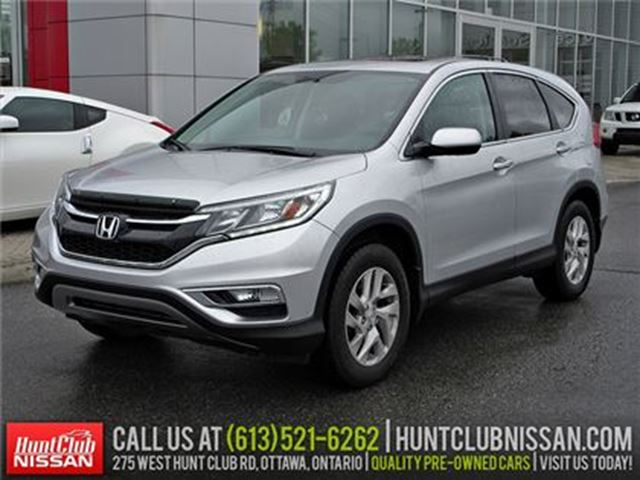 2015 HONDA CR-V EX   Leather, Sunroof, Rear Camera in Ottawa, Ontario