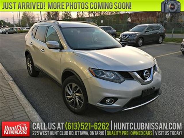 2015 NISSAN ROGUE SL   Navigation, Sunroof, Leather in Ottawa, Ontario