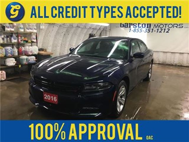 2016 DODGE CHARGER SXT*Navigation*Power Sunroof*Uconnect 8.4-in Touch in Cambridge, Ontario