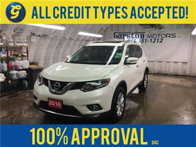 2016 NISSAN ROGUE SV-R*POWER SUNROOF*AWD*PHONE CONNECT*AM/FM/XM/CD/A in Cambridge, Ontario
