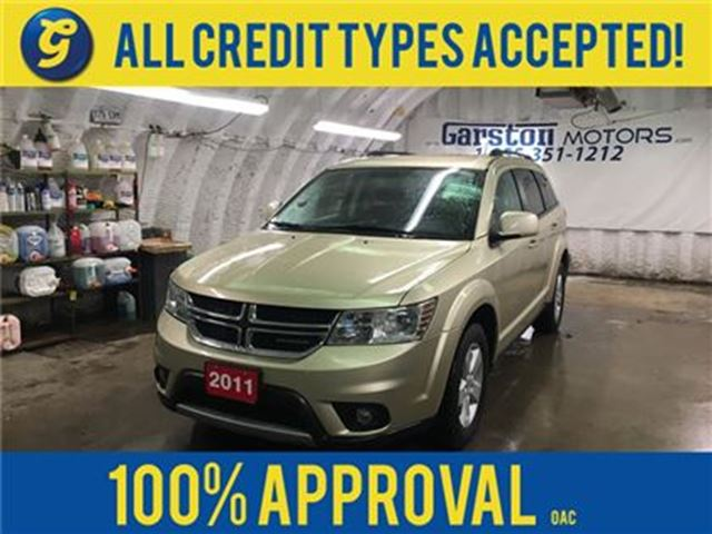 2011 DODGE JOURNEY SXT*KEYLESS ENTRY*ALLOYS*DUAL ZONE CLIMATE CONTROL in Cambridge, Ontario