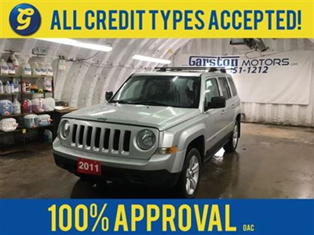 2011 JEEP PATRIOT NORTH*4WD*SUNROOF*ALLOYS*ROOF RACK*BOSTON AUDIO*HE in Cambridge, Ontario