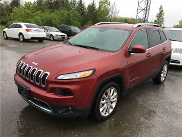 2016 Jeep Cherokee Limited in Fonthill, Ontario