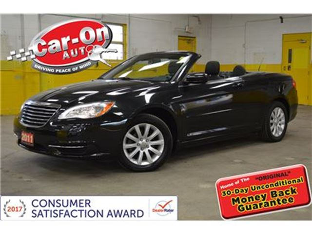 2011 CHRYSLER 200 CONVERTIBLE  from $122 bi-weekly in Ottawa, Ontario