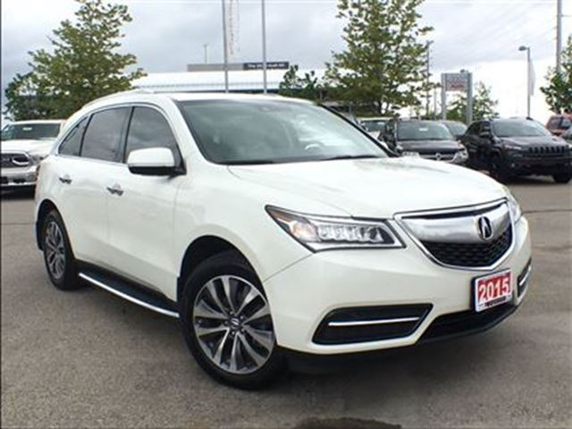 2015 Acura MDX Tech Pkg**NAVIGATION**POWER SUNROOF** in Mississauga, Ontario