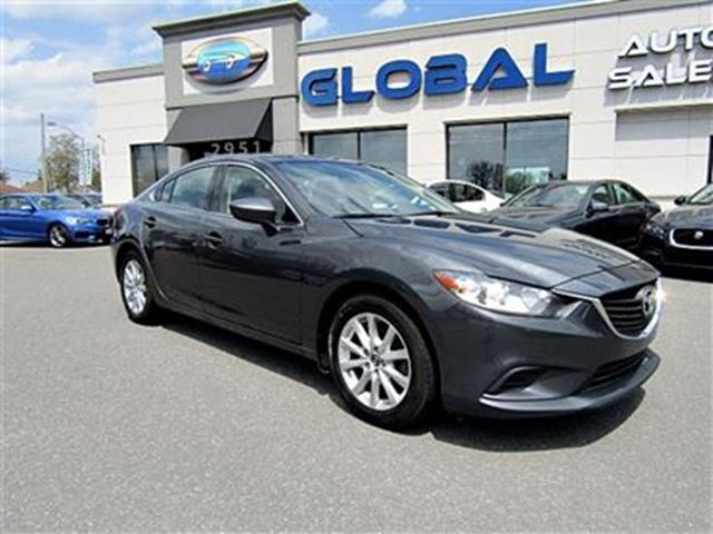 2014 Mazda MAZDA6 GX Sport SEDAN Manual Transmission in Ottawa, Ontario