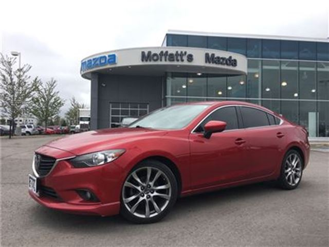 2014 Mazda MAZDA6 GT TECH PKG. LEATHER, SUNROOF, NAVIGATION in Barrie, Ontario