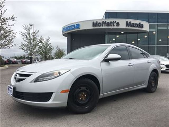 2012 Mazda MAZDA6 GS AUTO ON/OFF LIGHTS, BLUETOOTH, CRUISE, ALLOYS in Barrie, Ontario