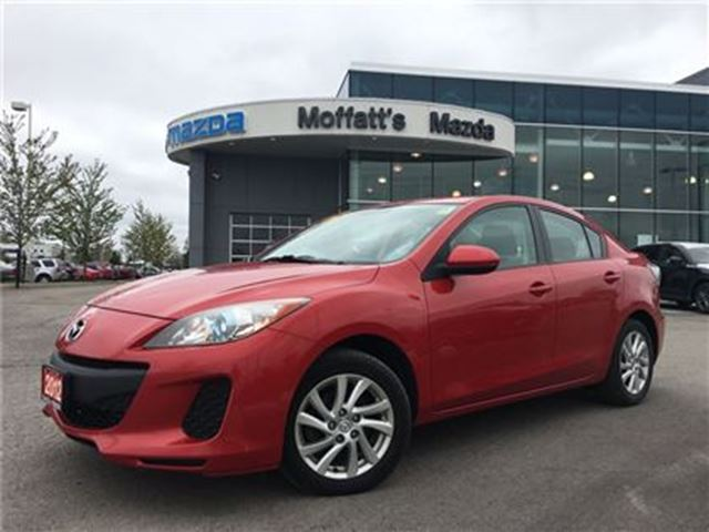 2012 MAZDA MAZDA3 GS-SKY HEATED SEATS, BLUETOOTH, CRUISE in Barrie, Ontario