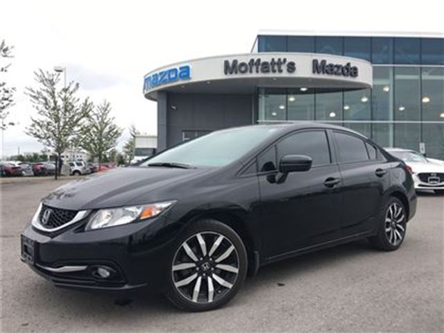 2014 HONDA CIVIC TOURING LEATHER, SUNROOF, BACK UP CAMERA, HEATED in Barrie, Ontario