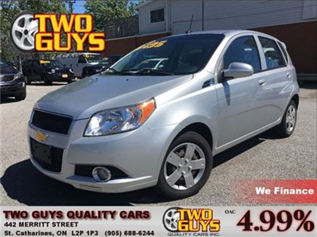 2011 Chevrolet Aveo Aveo 5 LT NICE LOCAL TRADE IN COMING SOON! in St Catharines, Ontario