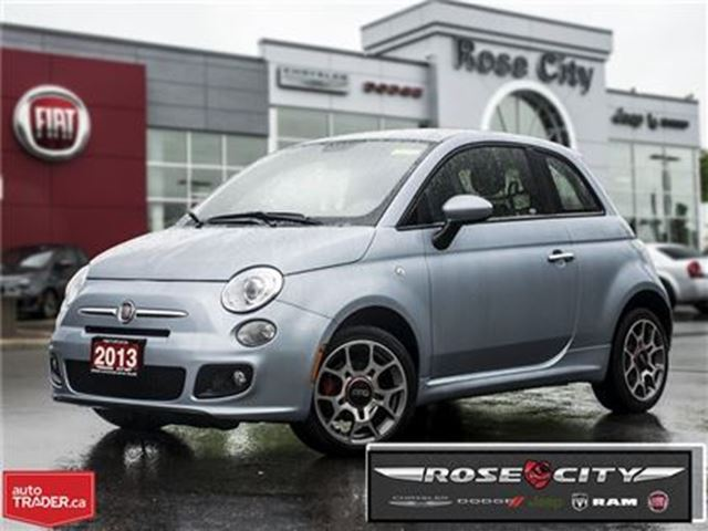 2013 FIAT 500 Sport~One Owner~Auto~Heated Seats in Welland, Ontario