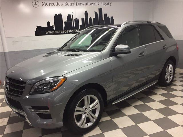 2015 MERCEDES-BENZ M-CLASS ML400 4MATIC Premium Bi-Xenon+ in Calgary, Alberta