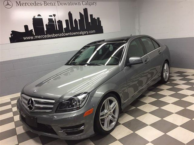 2013 MERCEDES-BENZ C-CLASS C350 4MATIC Convenience Premium++ in Calgary, Alberta