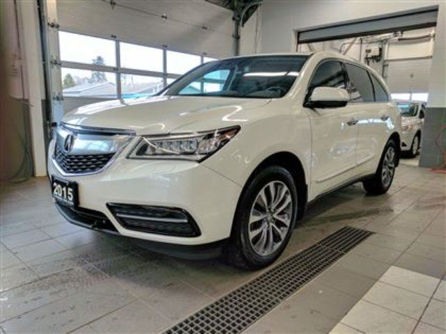 2015 ACURA MDX Nav AWD - Leather - Sunroof - One Owner! in Thunder Bay, Ontario