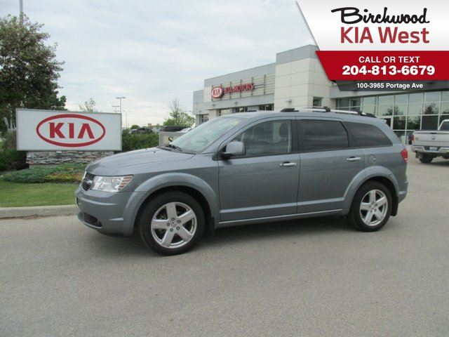 2010 DODGE JOURNEY R/T *LEATHER/ DUAL-ZONE CLIMATE CONTROL* in Winnipeg, Manitoba