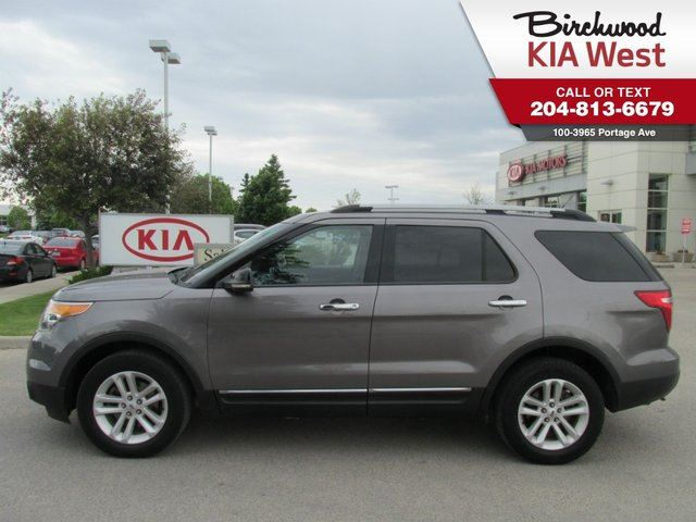 2012 FORD EXPLORER XLT *BLUETOOTH/ 4WD/ DUAL-ZONE CLIMATE CONTROL* in Winnipeg, Manitoba