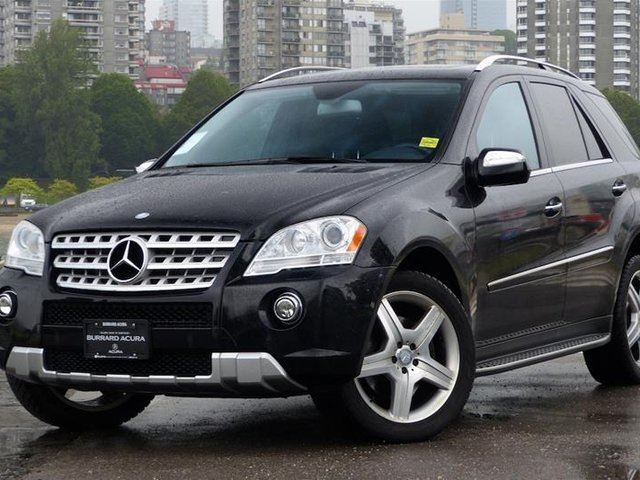 2010 MERCEDES-BENZ M-CLASS 4MATIC in Vancouver, British Columbia