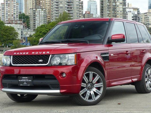 2013 Land Rover Range Rover Sport V8 SC Red Limited Edition in Vancouver, British Columbia