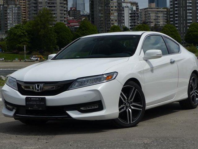 2016 Honda Accord Coupe V6 Touring 6AT in Vancouver, British Columbia