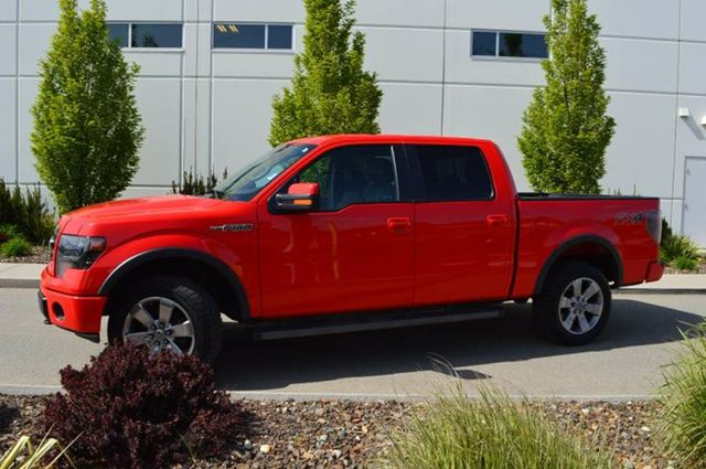 2013 Ford F-150 FX4 4x4 SuperCrew Cab 5.5 ft. box 145 in. WB in Kamloops, British Columbia