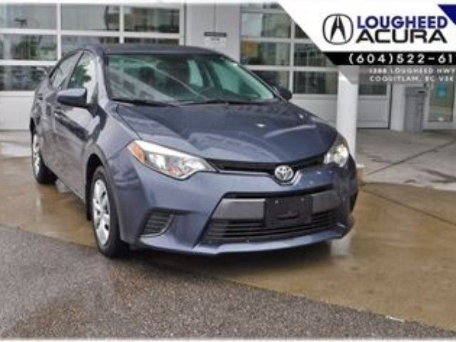 2015 Toyota Corolla LE* One Owner* in Coquitlam, British Columbia