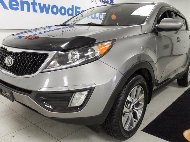 2015 KIA SPORTAGE LX manual with heated front seat! She's a true beaut in Edmonton, Alberta