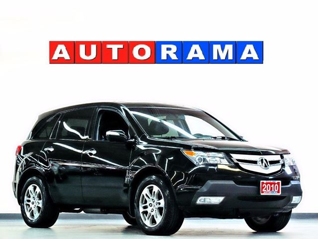 2010 Acura MDX TECH PKG NAVI BACKUP CAM LEATHER SUNROOF DVD AWD in North York, Ontario