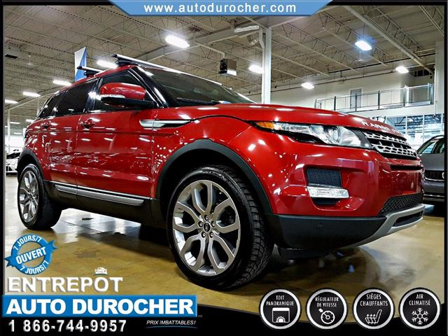 2013 Land Rover Range Rover Evoque PURE PLUS - CUIR - AIR CLIMATISn++ - TOIT OUVRANT in Laval, Quebec