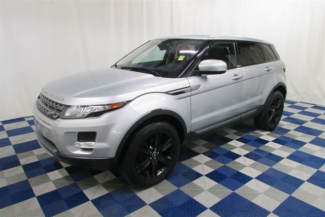 2013 LAND ROVER RANGE ROVER EVOQUE Pure Premium AWD/NAV/REAR CAM/LEATHER/SUNROOF in Winnipeg, Manitoba