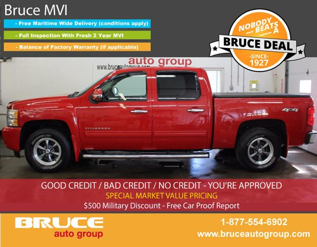 2010 CHEVROLET SILVERADO 1500 Z71 LT 5.3L 8 CYL AUTOMATIC 4X4 CREW CAB in Middleton, Nova Scotia