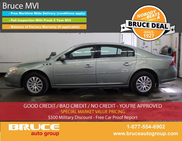 2006 Buick Lucerne CX 3.8L 6 CYL AUTOMATIC FWD 4D SEDAN in Middleton, Nova Scotia
