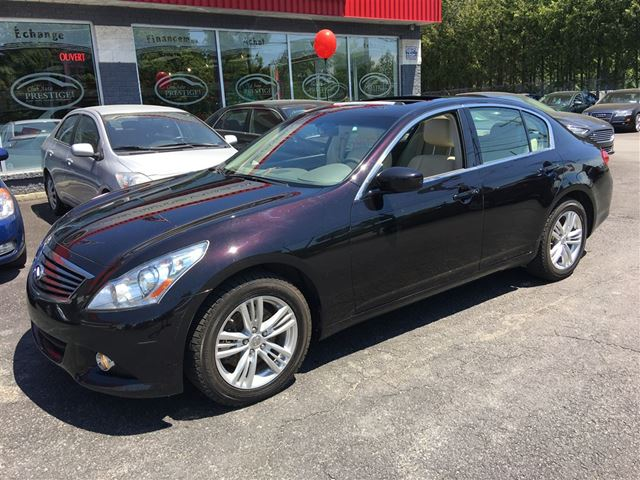 2012 Infiniti G25 x Luxury (A7)***CREDIT 100% APPROUVE*** in St Eustache, Quebec